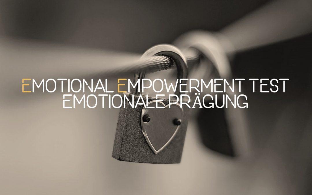 Test Emotionale Kompetenz – Emotionale Prägung